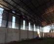 Obra em execução: Barracão Industrial A=1500m2 Fechamento lateral em telha. Pq. Industrial II - Maringá/PR